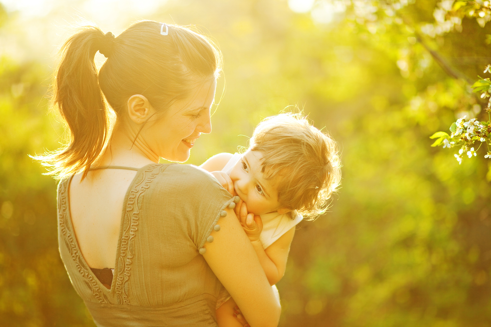Verwöhnen - Habe keine Angst davor, dein Kind zu verwöhnen. Genieße die gemeinsame Zeit