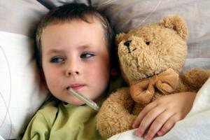 Wenn das Kleinkind Fieber hat - Angst und Sorge stehen dann im Vordergrund