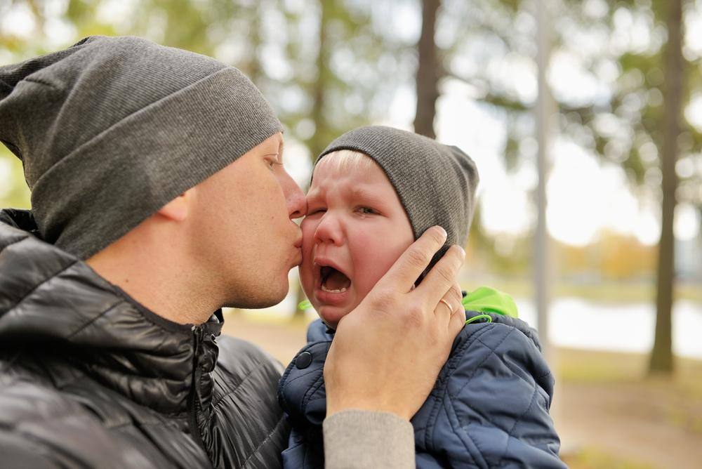 Trösten - Es ist wichtig für die Beziehung zu deinem Kind